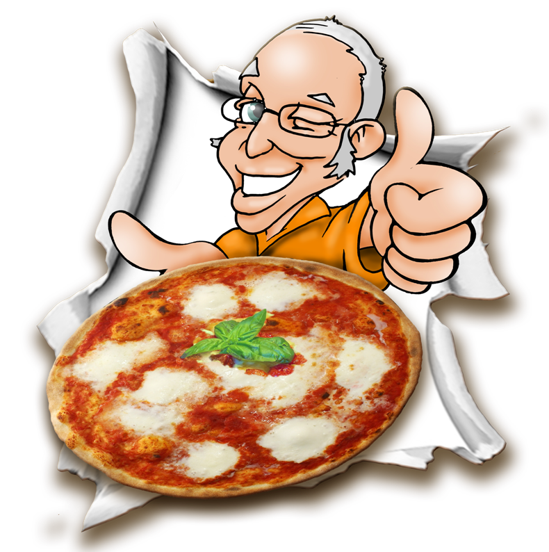 pizzarella logo pizza a domicilio ticino